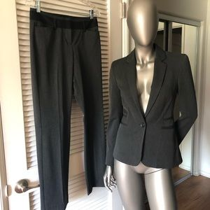 Express One button blazer & Editor pants Suit